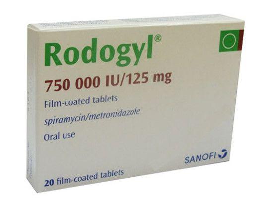 رودوجيل Rodogyl مضاد حيوي لعلاج الإلتهابات سوق الدواء